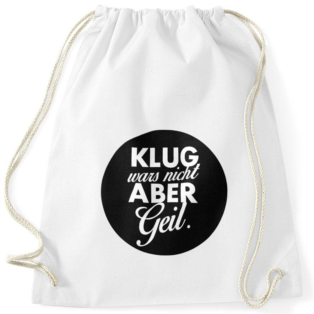 Sporttaschen Anker Hipster Turnbeutel mit Spruch und coolen Motiven