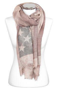 Damen-Schal mit USA Flagge Sterne Stars Vintage Schal Tuch Halstuch Schal Autiga®