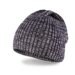 Neverless® Strickmütze Herren Winter-Mütze Beanie aus weichem Feinstrick