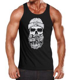 Herren Tank-Top Moin Totenkopf Anker Skull Muskelshirt Muscle Shirt Neverless®