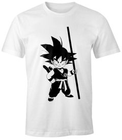 Herren T-Shirt - Son Goku Child Super Saiyajin Dragonball Z - Comfort Fit MoonWorks®