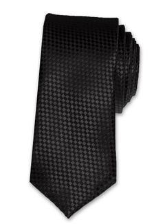 Krawatte Herren Hochzeit Konfirmation Struktur Slim Business kariert schmal