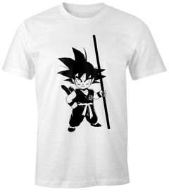 Herren T-Shirt - Son Goku Kid Super Saiyajin  - Comfort Fit MoonWorks®