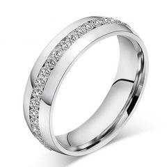 Autiga®  femininer Damen-Ring mit Zirkonia Steinen aus echtem 925 Sterling Silber