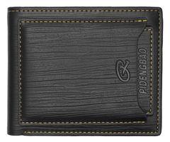 Leder Geldbörse Herren Damen Geldbeutel Portemonnaie Brieftasche Querformat Bifold