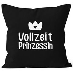 Kissenbezug Vollzeit Prinzessin Kissen-Hülle Deko-Kissen 40x40 MoonWorks®