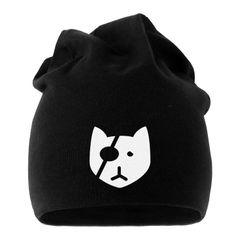 Jersey Beanie Bad Cat Katze Mütze bedruckt Herren Damen Moonworks®