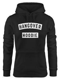 Kapuzen-Pullover Damen Hangover Hoodie Moonworks®