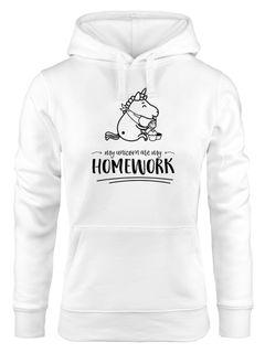Details zu Hoodie Damen läuft Spruch Sweatshirt mit Kapuze Kapuzenpullover Hoody Moonworks®