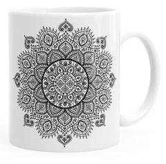 Kaffee-Tasse Mandala Ethno Boho Kaffeetasse Teetasse Keramiktasse Autiga®