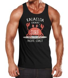 Herren Tank-Top Surf Krebs Muskelshirt Muscle Shirt Neverless®
