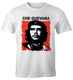 Herren T-Shirt Che Kuba Guevara Revolution Fun-Shirt Moonworks®
