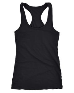 Neverless® Damen Tank-Top Racerback Baumwolle unifarben