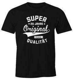 Herren T-Shirt Geburtstag Geschenk Super Original Fun-Shirt Moonworks®