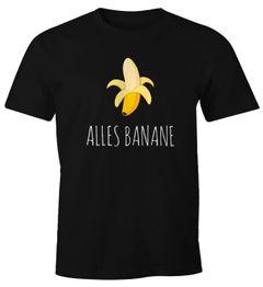 Alles Banane Herren T-Shirt Banana Shirt Hipster Cool Fun-Shirt Moonworks®