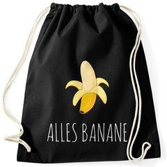 Cooler Turnbeutel Banana Banane Hipster Cool Sportbeutel Moonworks®