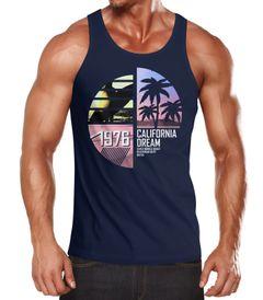 Herren Tanktop California Surfing Moonworks®