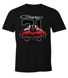 Herren T-Shirt Dodge Charger 71 Moonworks®