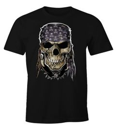 Herren T-Shirt Pirate Skull Moonworks®