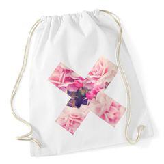 Turnbeutel X Aufdruck Pusteblume Ananas Rose Blume Palme Galaxy Autiga®
