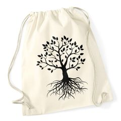 Hipster Turnbeutel Lebensbaum Tree of Life Baum des Lebens Geschenk Gymsac Autiga®