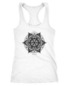 Damen Tank-Top Mandala Racerback Neverless®