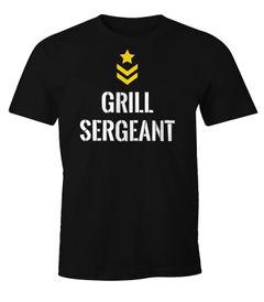 Herren T-Shirt Grill Sergeant Fun-Shirt Moonworks®