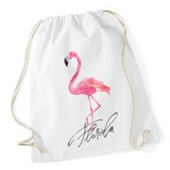 Flamingo Turnbeutel Seepferdchen Watercolor Autiga®