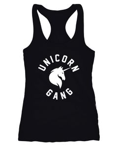Unicorn Gang Tank-Top Damen Einhorn Moonworks®