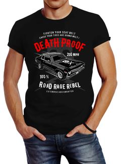 Herren T-Shirt V8 Auto US Car Tuning Deathproof Neverless®