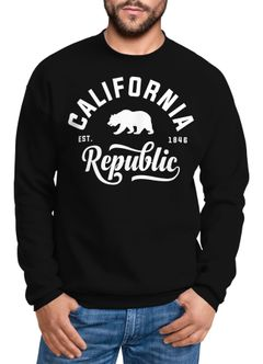 Schöner California Republic Herren Pullover Sweatshirt Neverless®
