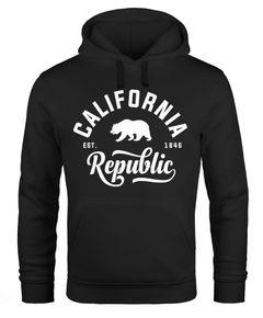 Hoodie Herren California Republic Kapuzen-Pullover Männer Neverless®