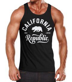 California Republic Herren Tank-Top von Neverless®