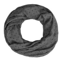 gepunkteter Damen Schlauchschal Loopschal Rundschal Punkte Pünktchen Dots Infinity Tube Scarf Autiga®