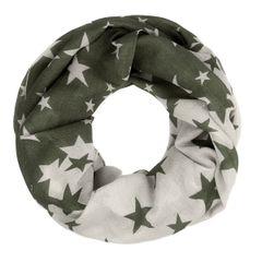 Schlauchschal Loopschal Rundschal Sterne Stars Flower Infinity Tube Scarf zweifarbig Autiga®