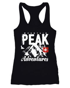 Damen Tanktop Mountain Adventures Moonworks®