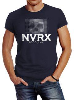 Totenkopf Herren T-Shirt Neverless Skull Slim Fit Neverless®