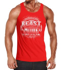 Herren Tank-Top Beast Mode Moonworks®
