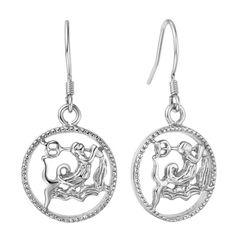 Sternzeichen-Ohrringe Damen Ohrstecker Ohrhänger Sternzeichen Autiga®