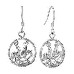 Sternzeichen-Ohrringe Zwillinge Damen Ohrstecker Ohrhänger Sternzeichen Autiga®
