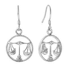 Sternzeichen-Ohrringe Waage Damen Ohrstecker Ohrhänger Sternzeichen Autiga®