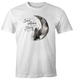 Herren T-Shirt You are my sun, my moon and all the stars Liebe Spruch Love Quote Geschenk Moonworks®