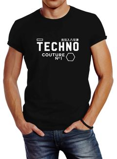 Techno Shirt Herren Neverless®