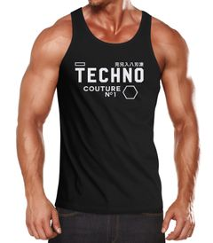 Techno Tank-Top Herren Muskelshirt Muscle Shirt Neverless®