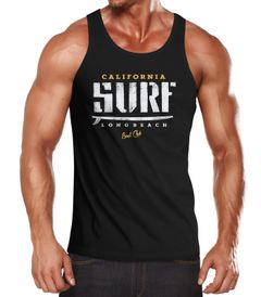 Herren Tank-Top Surf Druck Muskelshirt Muscle Shirt Neverless®