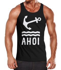 Herren Tank-Top Anker Ahoi Neverless®