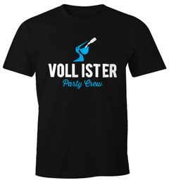 Lustiges Herren T-Shirt Vollister Bier Fun-Shirt Moonworks®