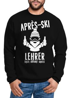 Sweatshirt Herren Apres-Ski Lehrer Rundhals-Pullover Moonworks®