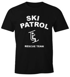 Herren T-Shirt Apres-Ski Bier Lift Patrol Fun-Shirt Moonworks®