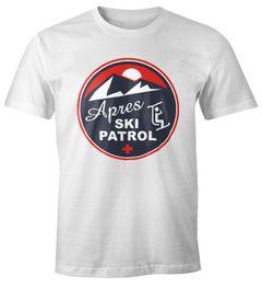 Herren T-Shirt Apres-Ski Patrol Retro Moonworks®